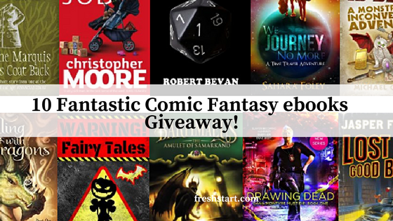 A Fantasy ebook Giveaway!