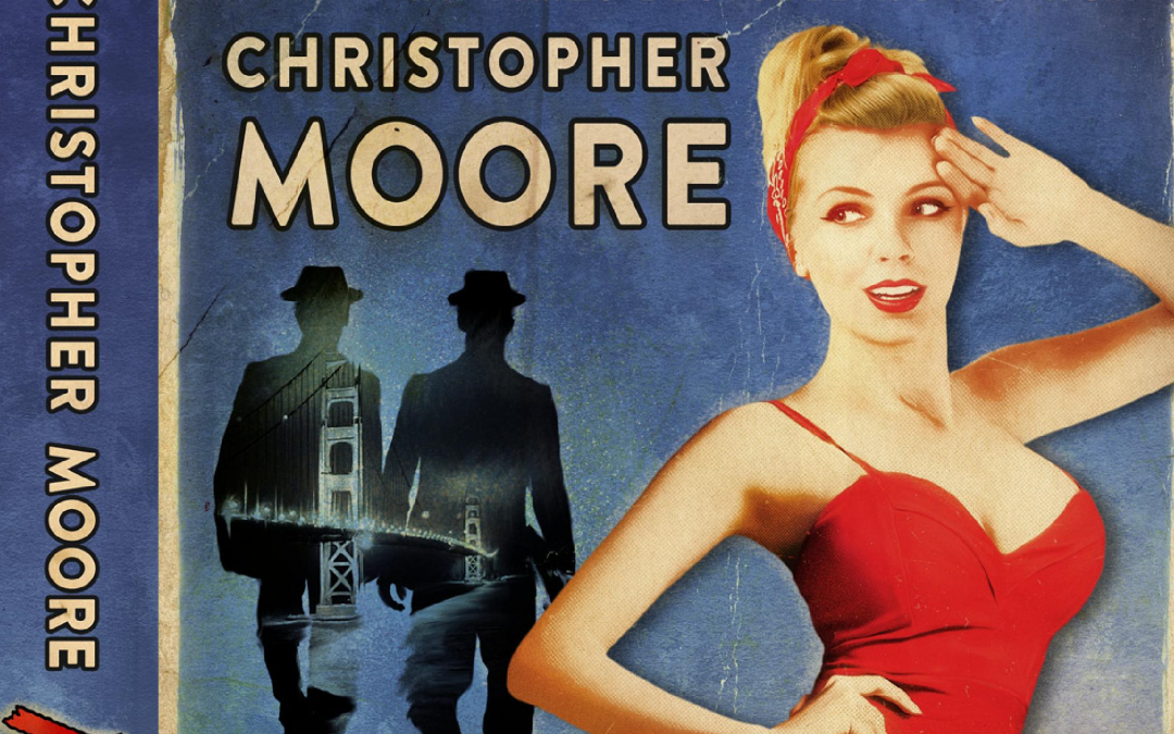 Signed Christopher Moore 'Noir' Novel Giveaway!