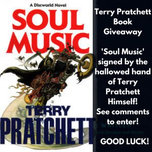 Terry Pratchett Giveaway