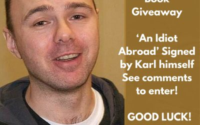 Book Giveaway! 'An Idiot Abroad' Signed by Karl Pilkington