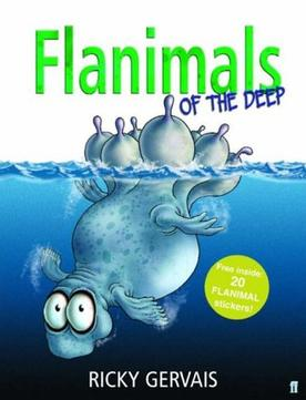 Ricky Gervais Signed Book Giveaway – 'Flanimals Of The Deep'