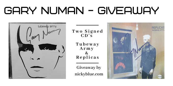 Gary Numan Giveaway – Two Signed CD's